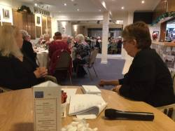 2019 Ladies Christmas Meal & Presentation Evening
